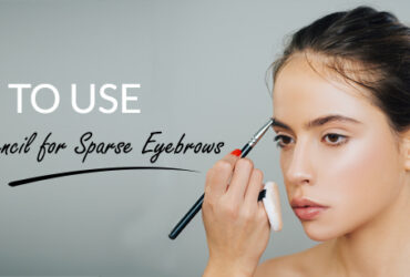 How to use eyebrow pencil for filling in sparse eyebrows